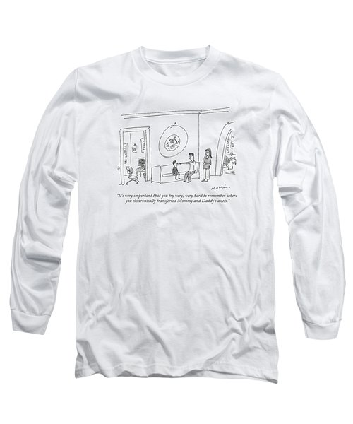 It's Very Important That You Try Long Sleeve T-Shirt
