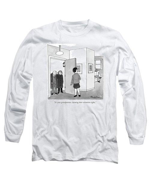 It's Your Grandparents Long Sleeve T-Shirt