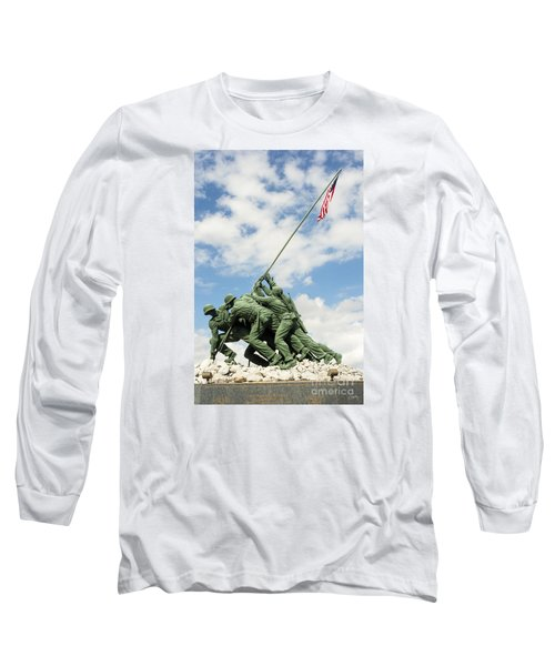 Iwo Jima Monument II Long Sleeve T-Shirt