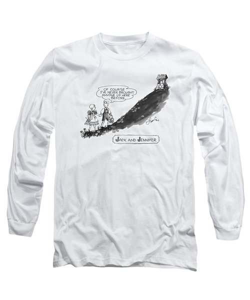 Jack And Jennifer Long Sleeve T-Shirt