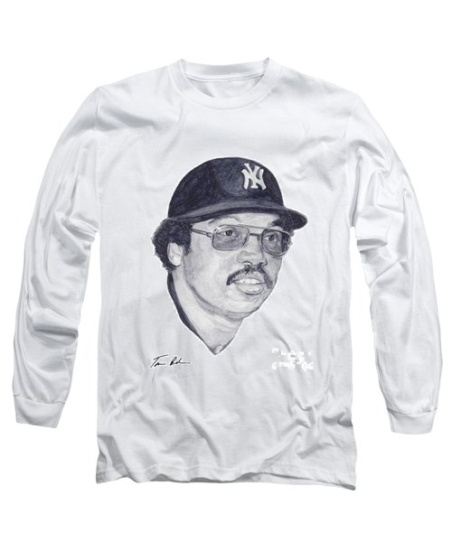 Long Sleeve T-Shirt featuring the painting Jackson by Tamir Barkan