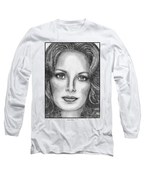 Jaclyn Smith In 1976 Long Sleeve T-Shirt