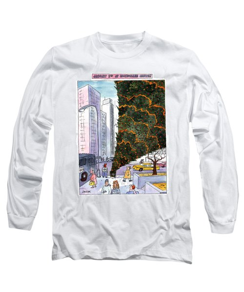 January 3rd At Rockefeller Center Long Sleeve T-Shirt