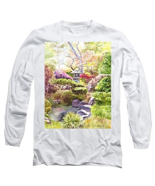 San Francisco Golden Gate Park Japanese Tea Garden  Long Sleeve T-Shirt