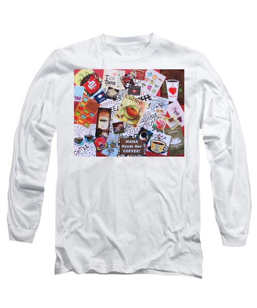 Java Lover's Collage Long Sleeve T-Shirt