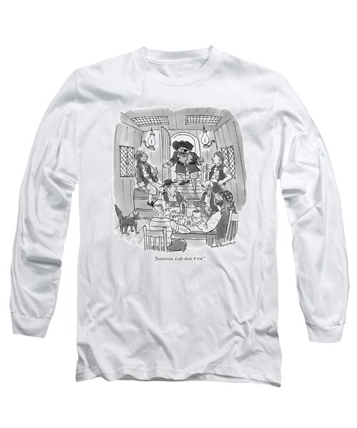 Jazzercise, Lido Deck, 4 P.m Long Sleeve T-Shirt