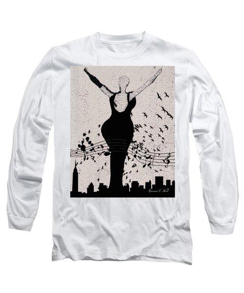 Jazzinthesky Long Sleeve T-Shirt