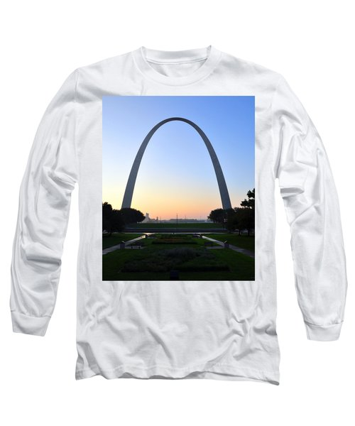 Jefferson National Expansion Memorial Long Sleeve T-Shirt