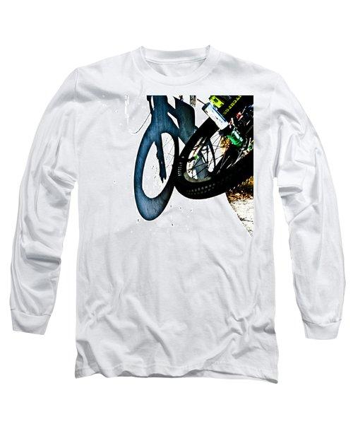 Jersey Barrier Long Sleeve T-Shirt by Joel Loftus