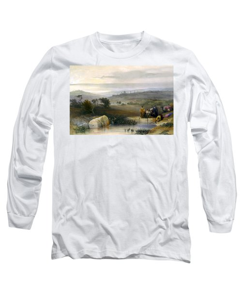 Jerusalem From The North Long Sleeve T-Shirt