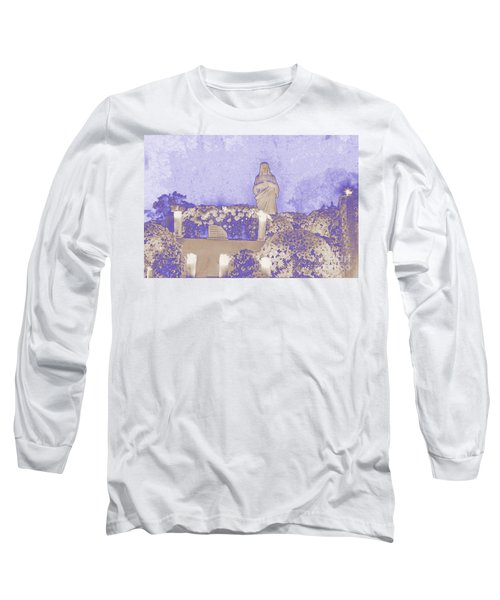 Long Sleeve T-Shirt featuring the photograph All Saints Day In Lacombe Louisiana by Luana K Perez