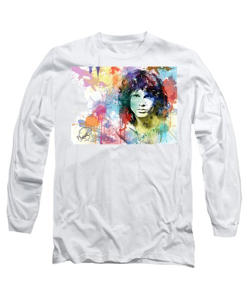 Jim Morrison Long Sleeve T-Shirt