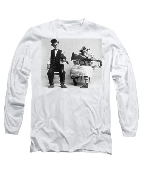 Jimmie And Blanche Creighton Long Sleeve T-Shirt