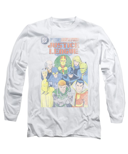Jla - Justice League #1 Cover Long Sleeve T-Shirt