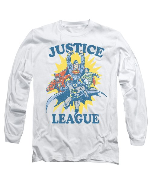 Jla - Let's Do This Long Sleeve T-Shirt
