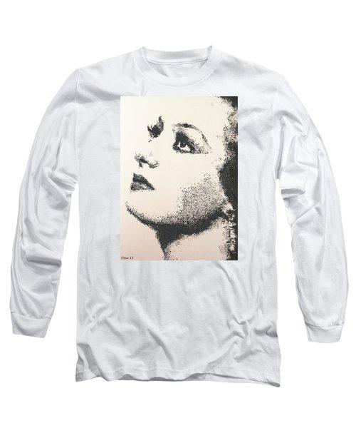 Joan Crawford Long Sleeve T-Shirt