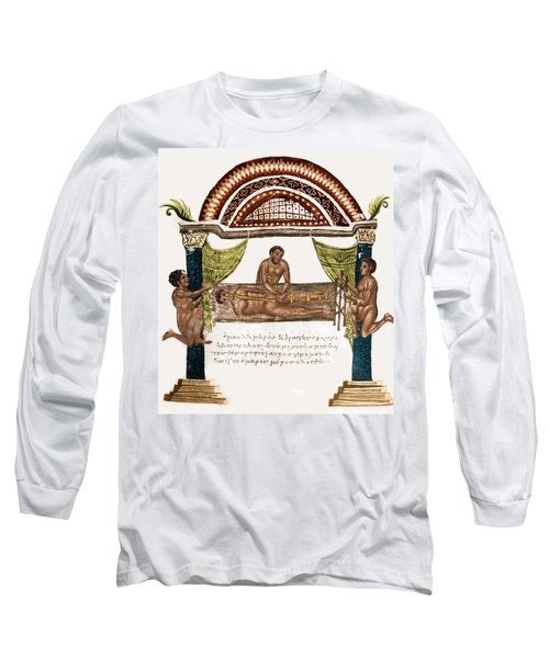 Long Sleeve T-Shirt featuring the photograph Joint Dislocation Treatment, 1st by Science Source