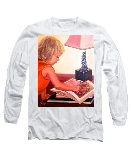 Jojo And Renoir Long Sleeve T-Shirt
