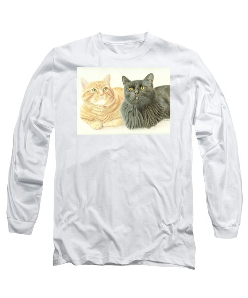 Jonzy And Black Long Sleeve T-Shirt