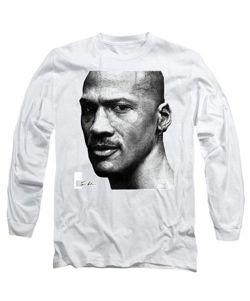 Jordan Dots Long Sleeve T-Shirt by Tamir Barkan