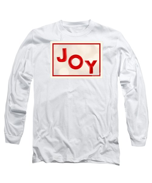 Long Sleeve T-Shirt featuring the photograph Joy To The World by Vizual Studio