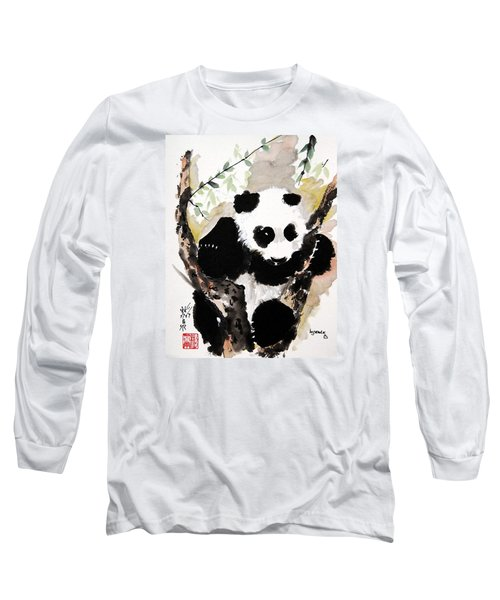 Long Sleeve T-Shirt featuring the painting Joyful Innocence by Bill Searle