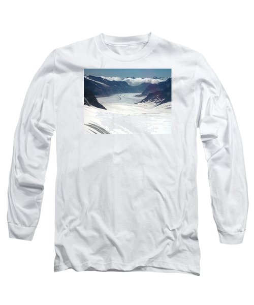 Jungfrau Glacier Long Sleeve T-Shirt
