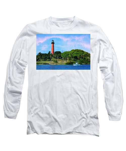 Jupiter Lighthouse Long Sleeve T-Shirt