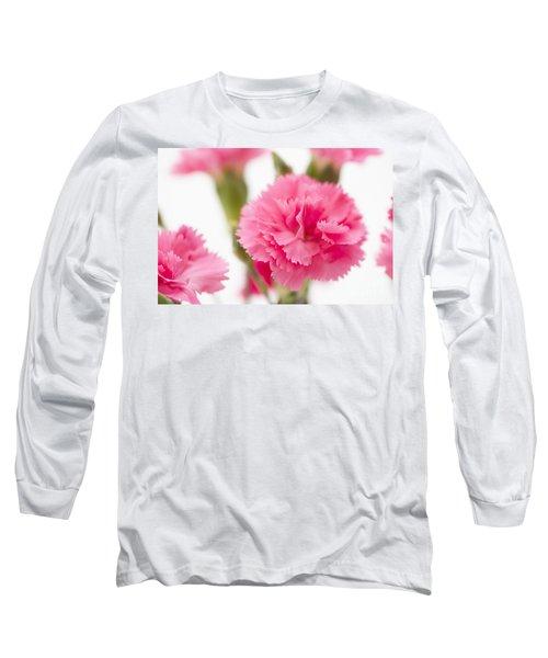 Just Carnations Long Sleeve T-Shirt