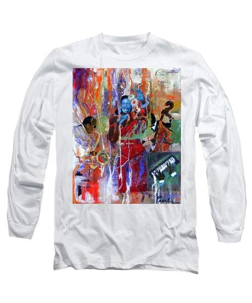 Just Jazzin Long Sleeve T-Shirt