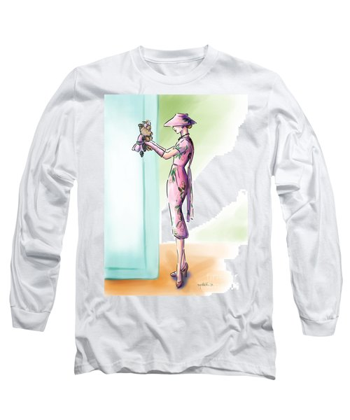 Just Like Mommy Long Sleeve T-Shirt by Catia Cho