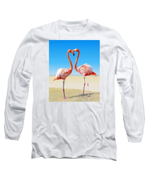 Just We Two Long Sleeve T-Shirt by Kristin Elmquist