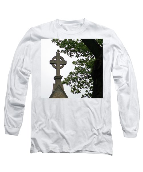 Long Sleeve T-Shirt featuring the photograph Keeping The Faith by Kay Novy