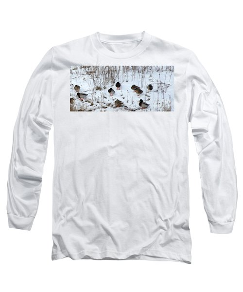 Keeping Warm Long Sleeve T-Shirt