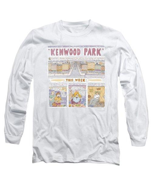 Kenwood Park Long Sleeve T-Shirt