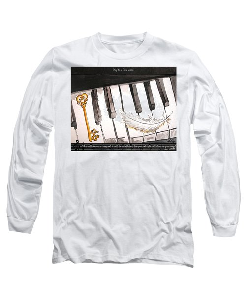 Key To A New Sound Long Sleeve T-Shirt