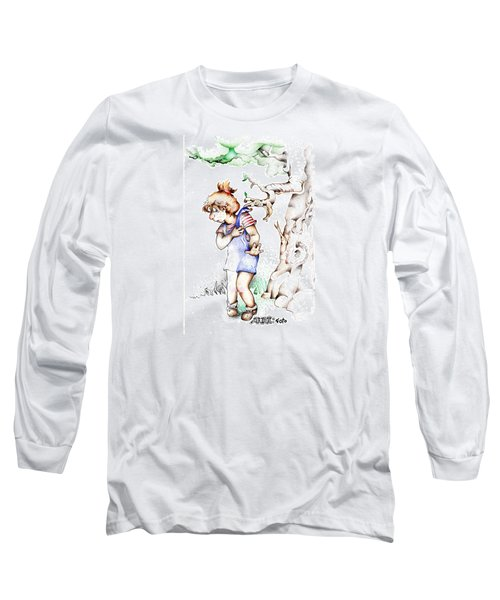 Trail Blazing Edition Kidnabbed 2 Foto Long Sleeve T-Shirt