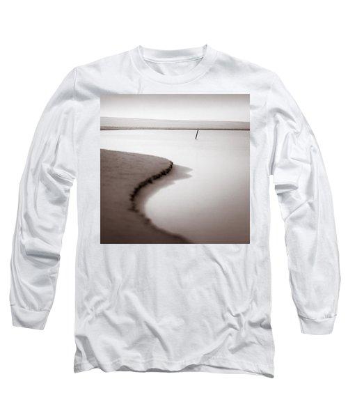 Kijkduin Beach Long Sleeve T-Shirt