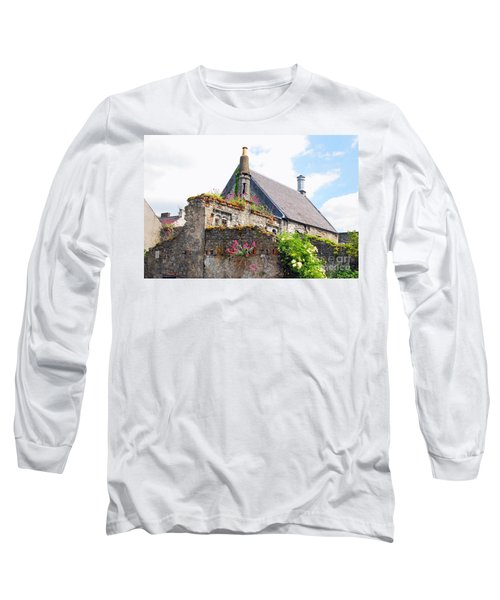 Long Sleeve T-Shirt featuring the photograph Kilkenny House by Mary Carol Story