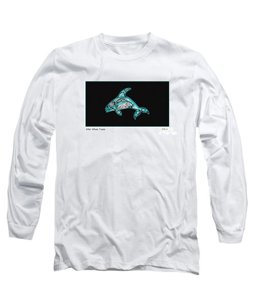 Killer Whale Totem Long Sleeve T-Shirt
