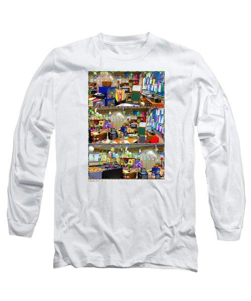 Kindergarten Classroom Long Sleeve T-Shirt by Tina M Wenger