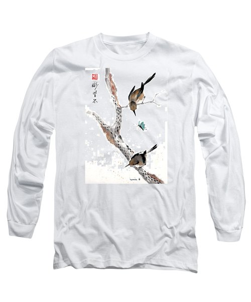 Kindred Hearts Long Sleeve T-Shirt by Bill Searle