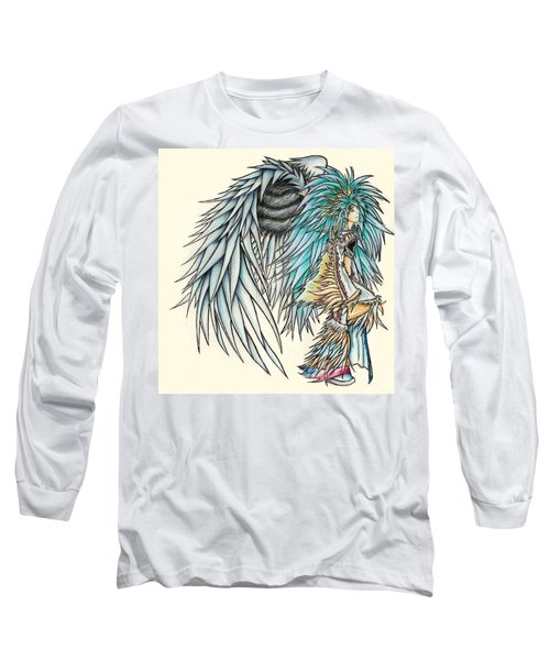 Long Sleeve T-Shirt featuring the painting King Crai'riain by Shawn Dall