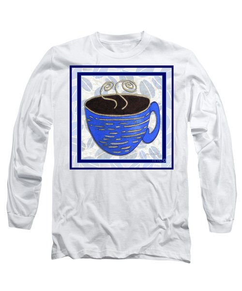 Kitchen Cuisine Hot Cuppa No89 V2 By Romi And Megan Long Sleeve T-Shirt