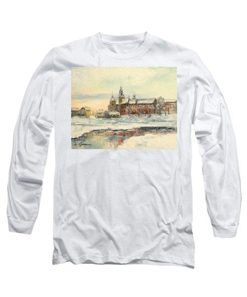 Krakow - Wawel Castle Winter Long Sleeve T-Shirt