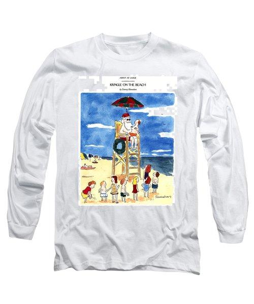 Kringle On The Beach Long Sleeve T-Shirt