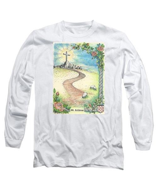 Krizevac - Cross Mountain Long Sleeve T-Shirt