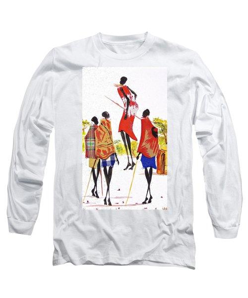 L 104 Long Sleeve T-Shirt