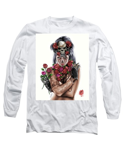 La Calavera Catrina Long Sleeve T-Shirt
