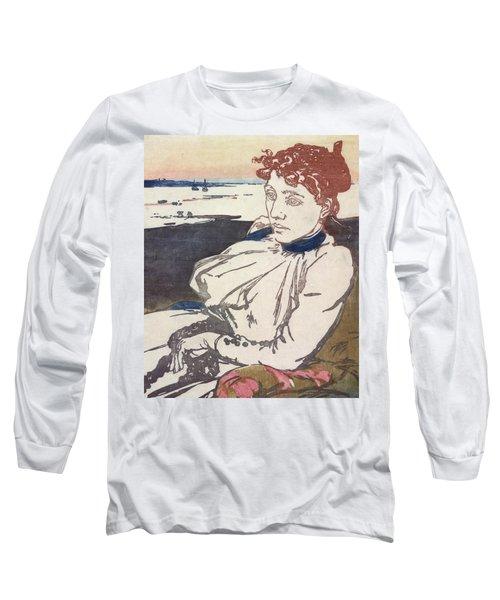 La Convalescante Mademoiselle Lepere Long Sleeve T-Shirt